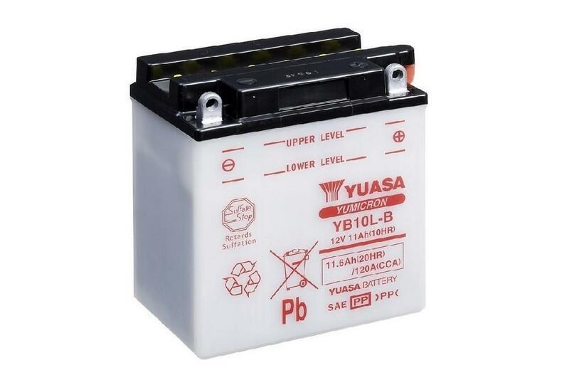 Batterie YUASA conventionnelle sans pack acide - YB10L-B