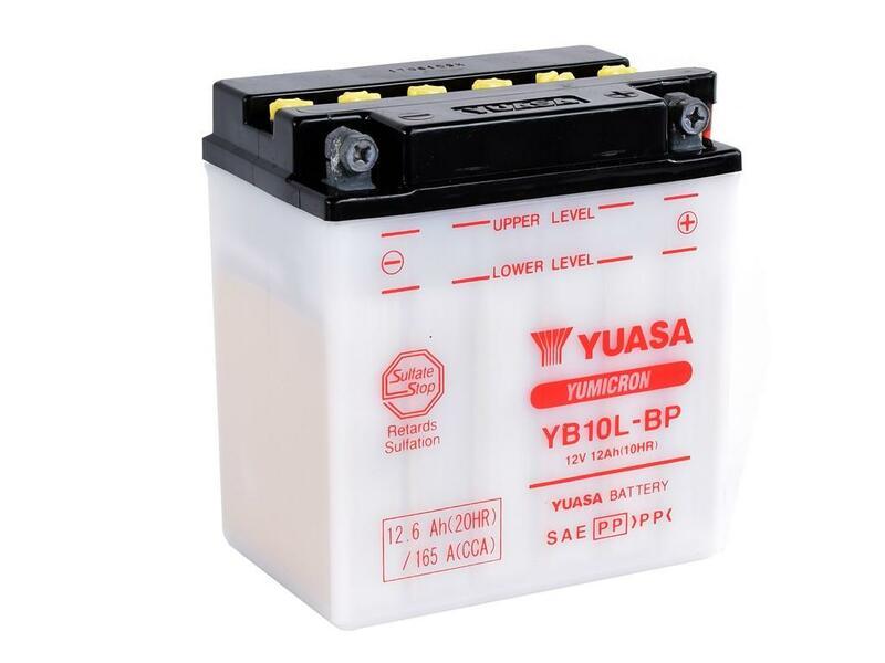 Batterie YUASA conventionnelle sans pack acide - YB10L-BP