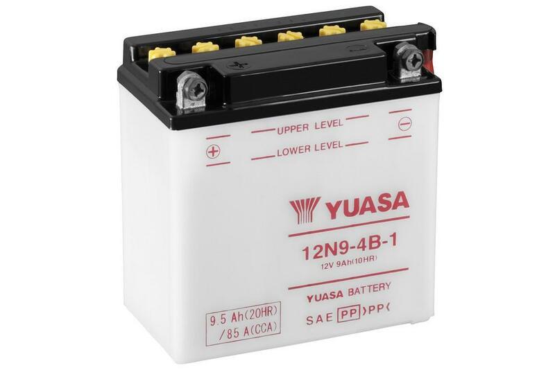 Batterie YUASA conventionnelle sans pack acide - 12N9-4B-1