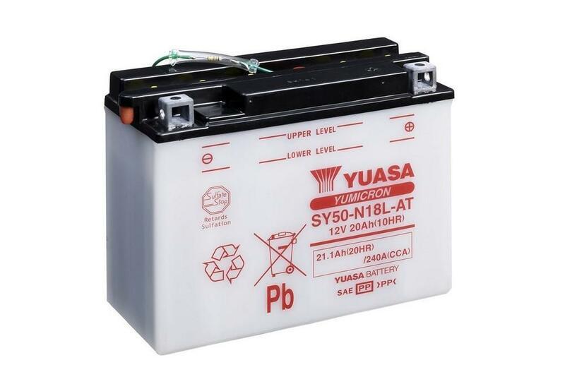 Batterie YUASA conventionnelle sans pack acide - SY50-N18L-AT