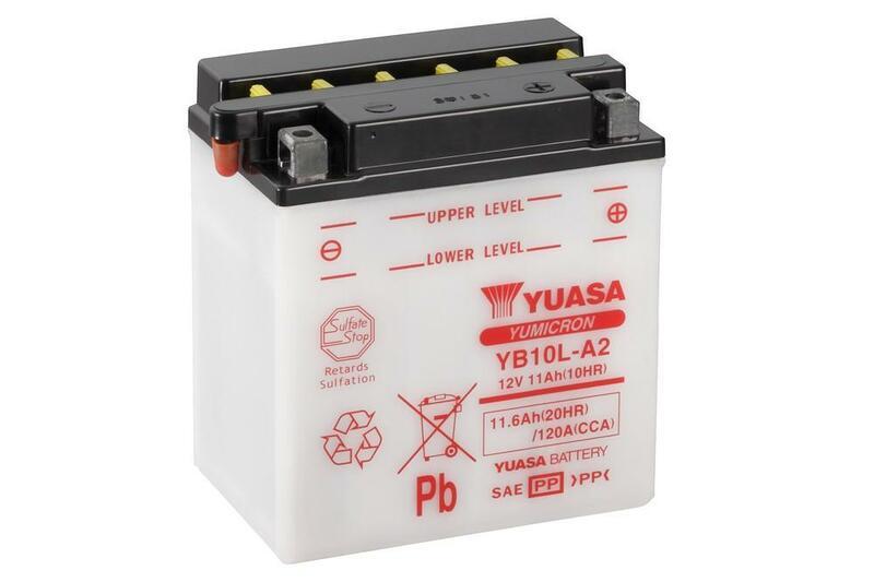 Batterie YUASA conventionnelle sans pack acide - YB10L-A2