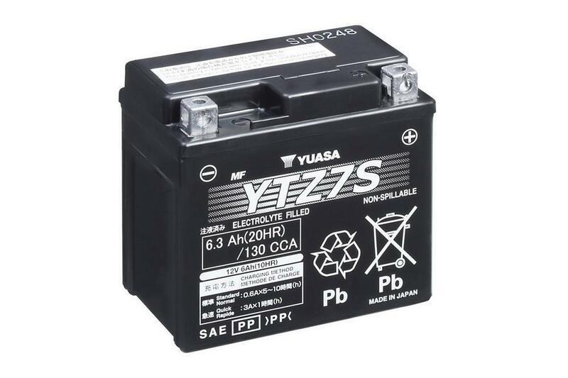 Batterie YUASA W/C sans entretien activé usine - YTZ7S