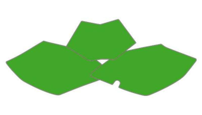 Fonds de plaque BLACKBIRD vert Beta RR