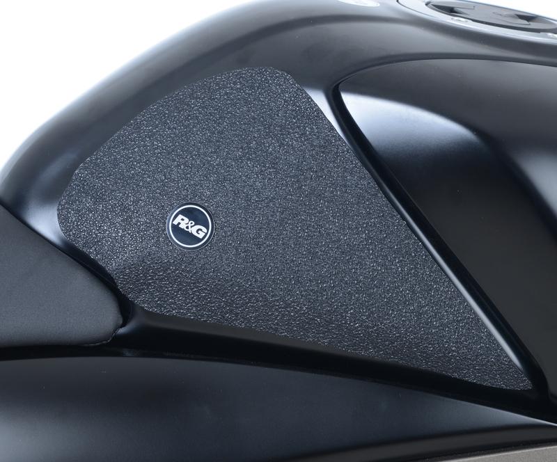 Kit grip de réservoir R&G Racing 2 pièces translucide Suzuki GSX-R125