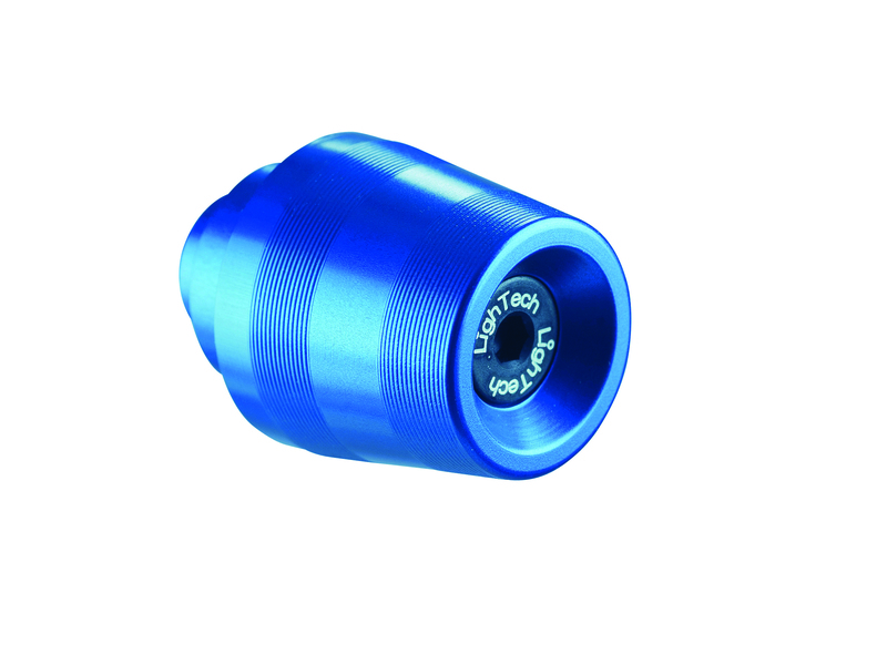 Embout de guidon LIGHTECH cobalt Aprilia Shiver 750