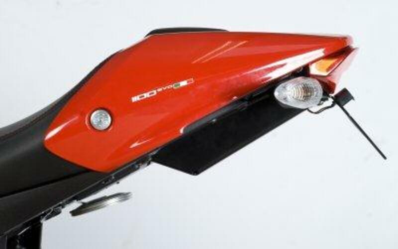 Support de plaque R&G RACING noir Ducati Monster 1100 Evo
