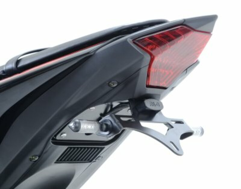 Support de plaque noir R&G RACING Yamaha Yamaha YZF-R3
