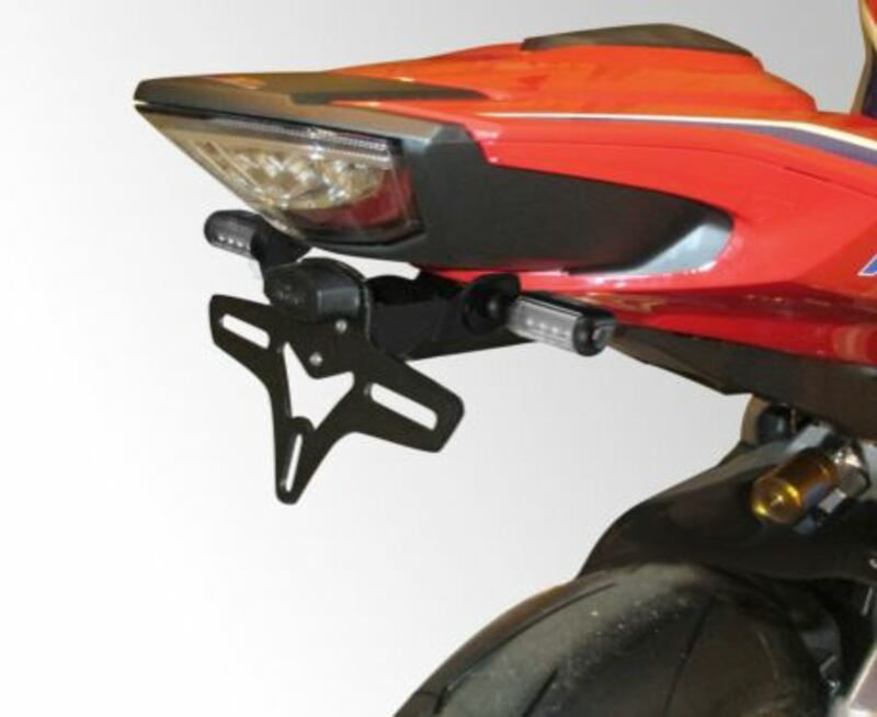 Support de plaque R&G RACING noir Honda CBR1000RR