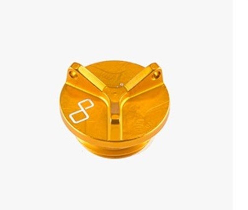 Bouchon de carter d'huile LIGHTECH 3 trous or M26 x 3