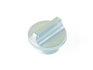 Bouchon de carter d'huile LIGHTECH 2 trous argent M22 x 1,5