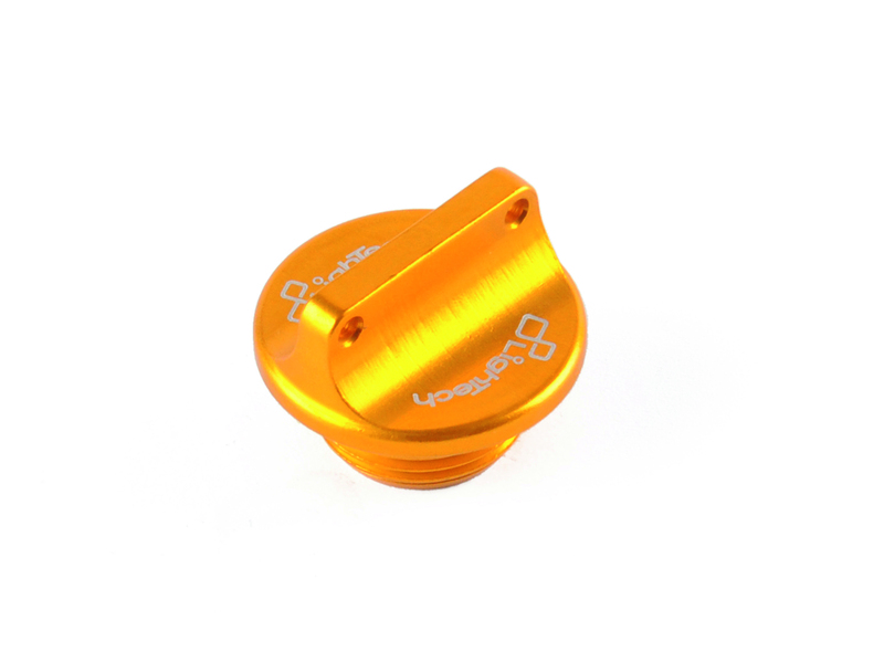 Bouchon de carter d'huile LIGHTECH 2 trous or M20 x 2,5