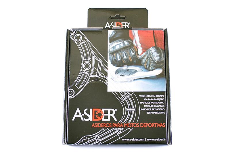 Poignée de réservoir A-SIDER Black Edition 3 ou 7 vis noir Yamaha YZF-R1/YZF-R6