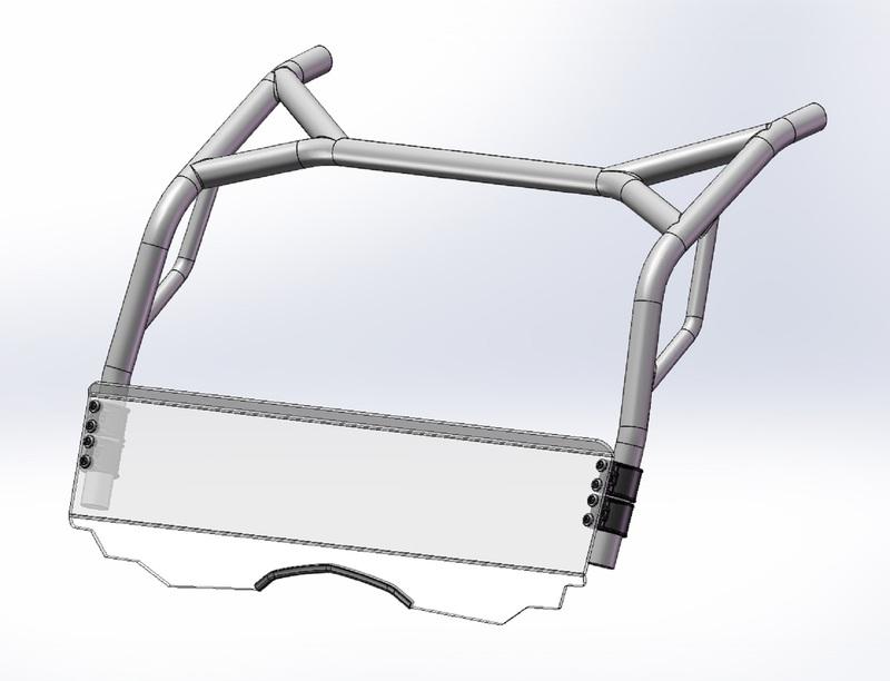 Bulle DIRECTION 2 Low SSV - CF Moto Zforce