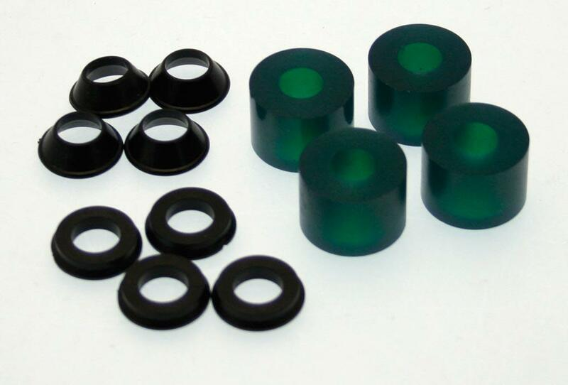 Entretoise XTRIG PHDS élastomère vert souple