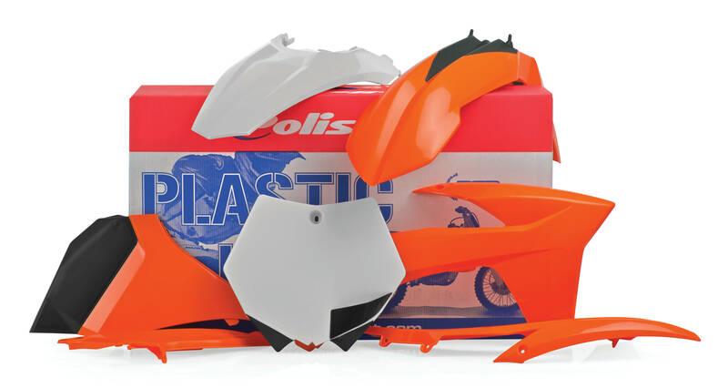 Kit plastique POLISPORT couleur origine KTM