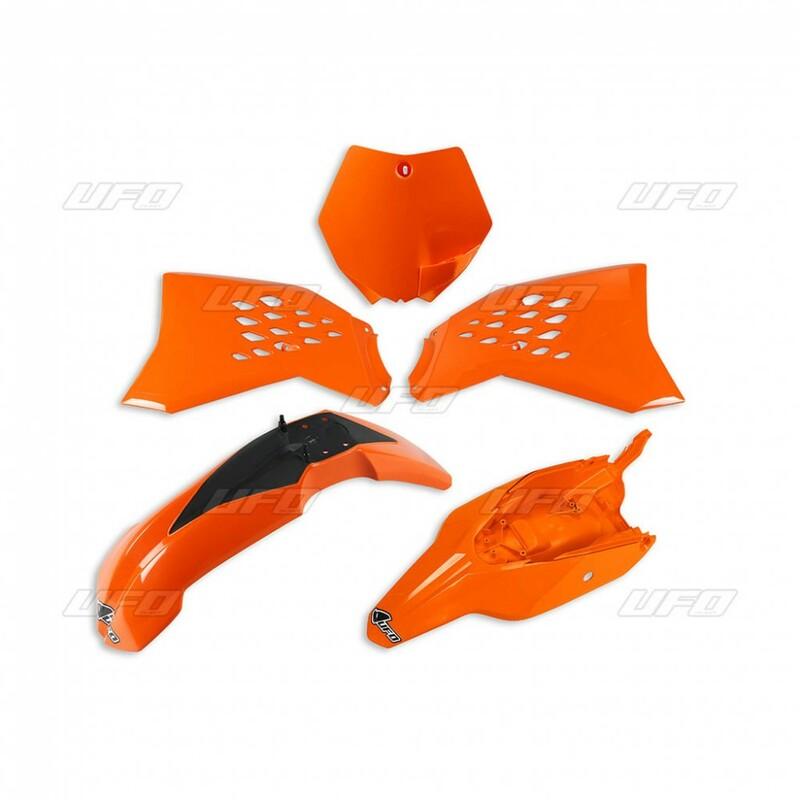 Kit plastiques UFO orange KTM SX 65