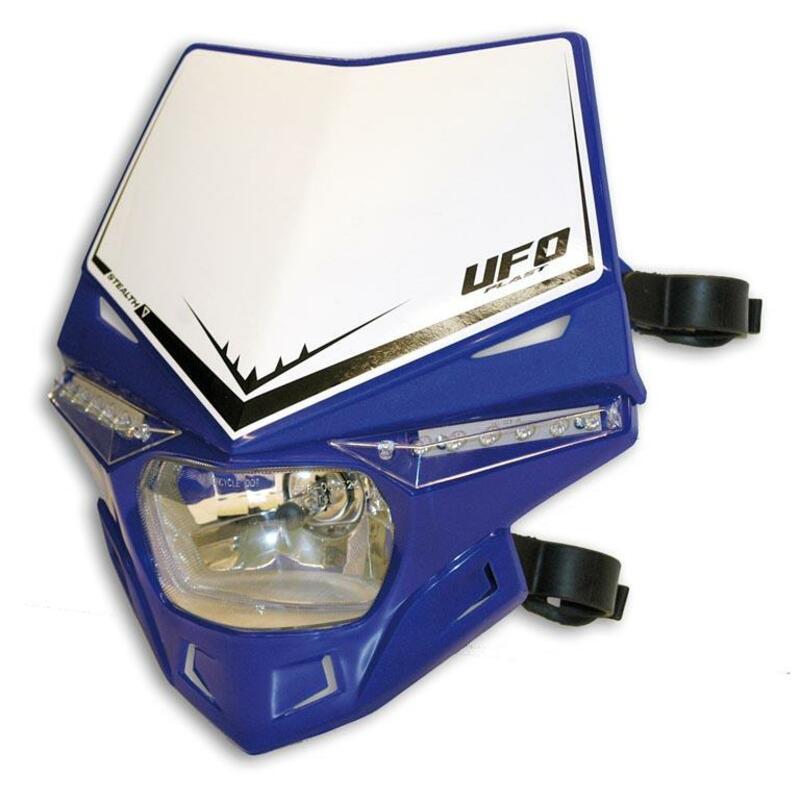 Plaque phare UFO Stealth bleu Reflex