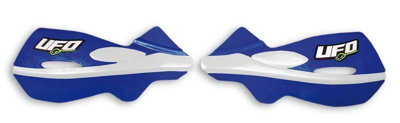 Protège-mains UFO Patrol bleu reflex Kit montage inclus