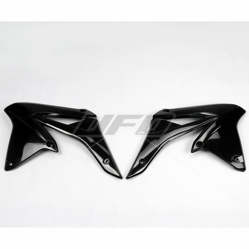 Ouïes de radiateur UFO noir Suzuki RM-Z250