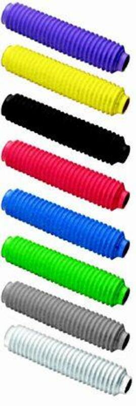 Soufflets de fourche CEMOTO rouge Ø28/30mm - 180mm