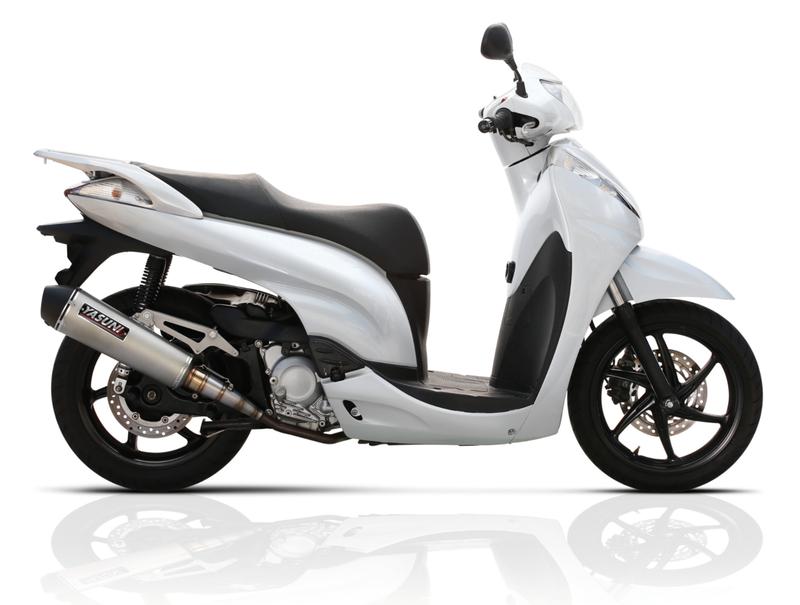 Silencieux YASUNI Scooter 4 Titane - HONDA SH 300