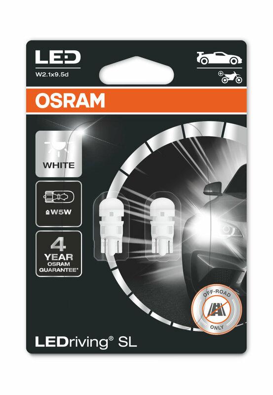 Ampoule OSRAM Retrofit LEDriving W5W 12V 0,8W