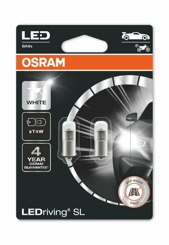Ampoule OSRAM Retrofit LEDriving T4W 12V 0,8W