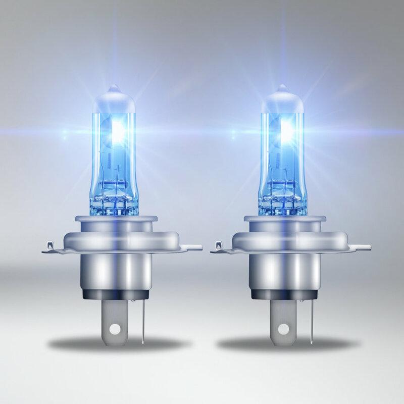 Ampoules OSRAM H4 Cool Blue Intense 12V 60/55W P43t-38 - par paire