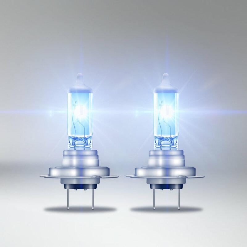 Ampoules OSRAM H4 Cool Blue Intense 12V 60/55W PX26d - par paire