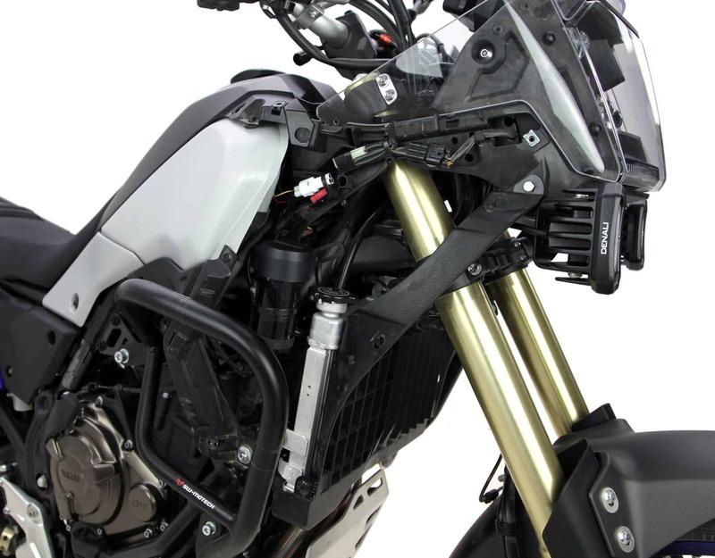 Support klaxon DENALI SoundBomb Yamaha Tenere 700