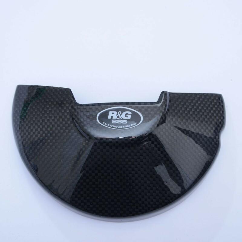 Slider moteur gauche R&G RACING - carbone Honda CBR1000R-RR
