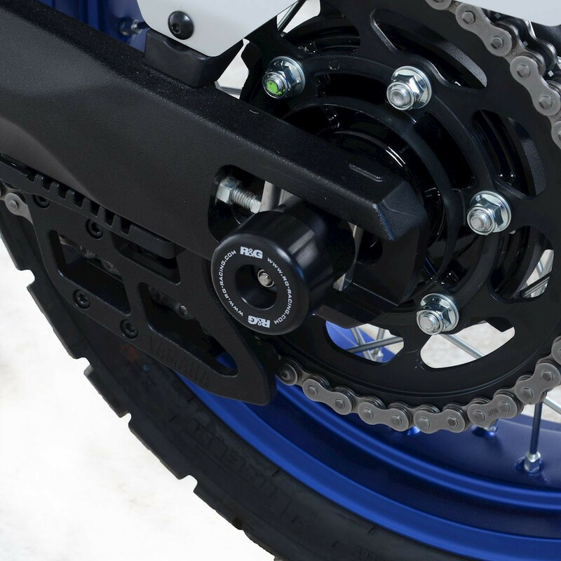 Protection de bras oscillant R&G RACING noir Yamaha Tenere 700