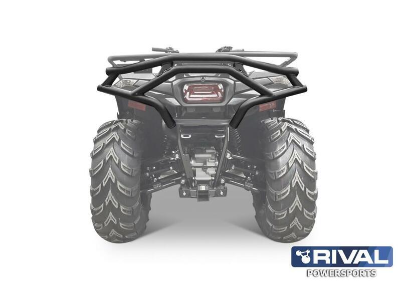 Pare-choc arrière RIVAL noir CF Moto