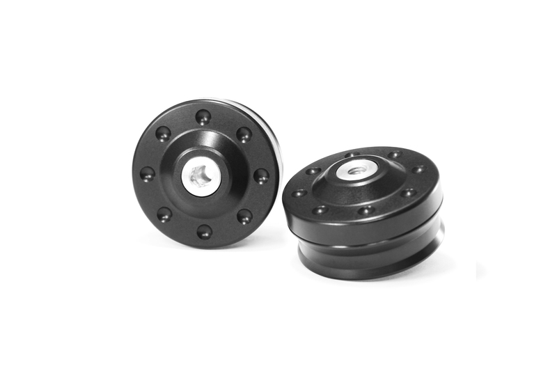 Protections fourche et bras oscillant (axe de roue) GILLES TOOLING GTA noir BMW R Nine-T