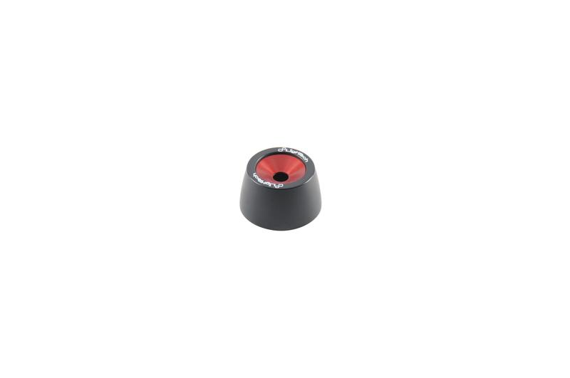 Protections fourche et bras oscillant (axe de roue) LIGHTECH rouge Yamaha MT-10