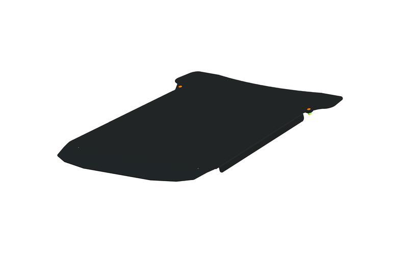 Panneau de toit ART noir Polaris Ranger