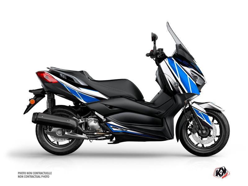 Kit déco KUTVEK Replica bleu/gris Yamaha X-Max 300
