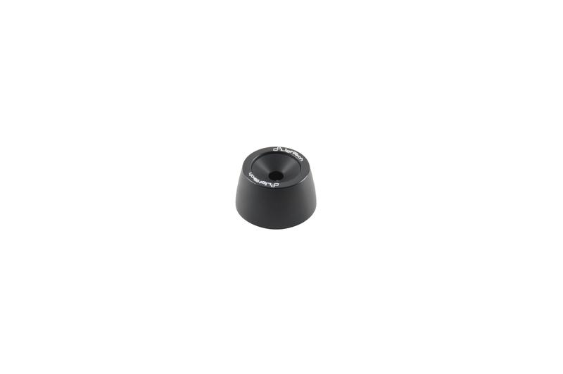 Protections fourche et bras oscillant (axe de roue) LIGHTECH noir Honda