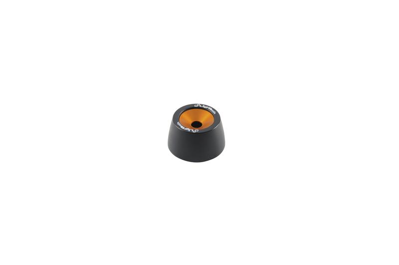 Protections fourche et bras oscillant (axe de roue) LIGHTECH orange KTM Duke 790
