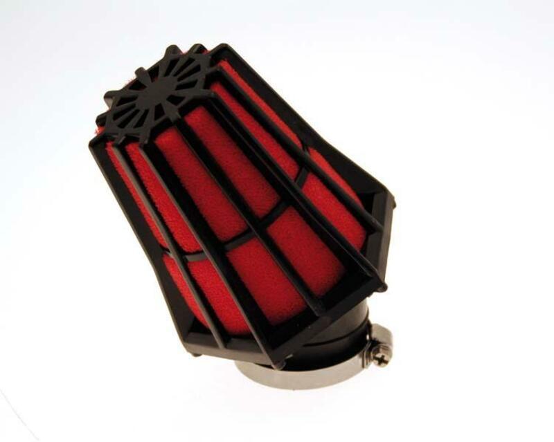 Filtre à air B1 30° noir/rouge - E0199R699B