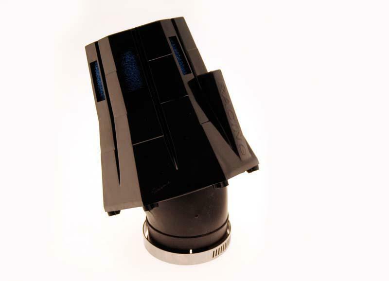 Filtre à air B1 30° capuchon noir/bleu - E0499U699B