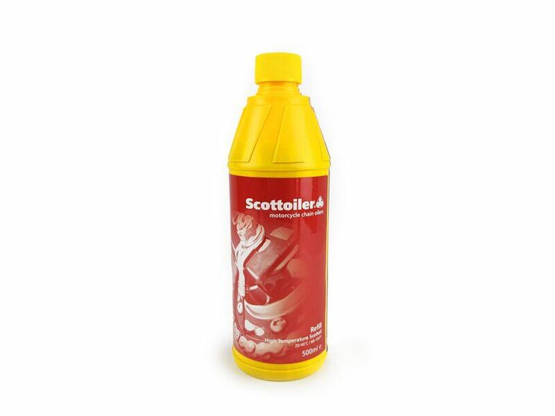 Recharge d'huile SCOTTOILER kits eSystem et vSystem haute température 20-40°C - 500ml