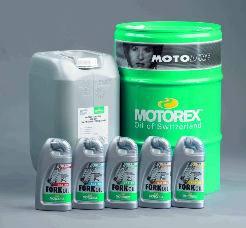 Huile de fourche MOTOREX Racing Fork Oil - 2,5W 25L