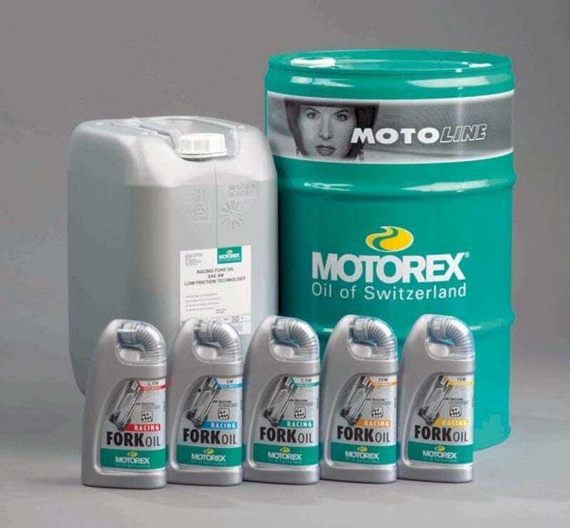 Huile de fourche MOTOREX Racing - 15W 25L