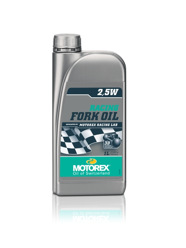 Huile de fourche MOTOREX Racing Fork Oil - 2.5W 1L