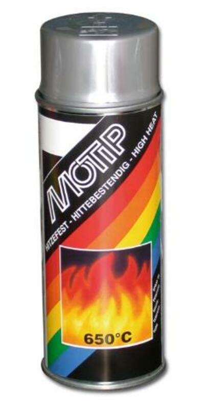 Peinture haute température MOTIP Argent - Spray 400 ml