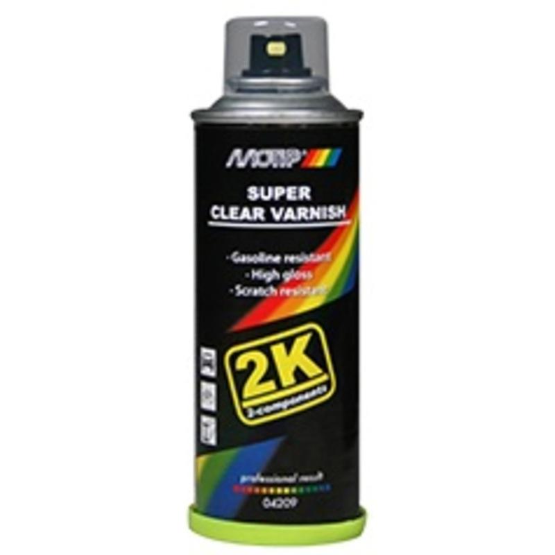 Vernis 2k MOTIP super transparent - spray 160ml