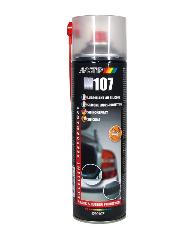 Nettoyant silicone MOTIP - Spray 500 ml