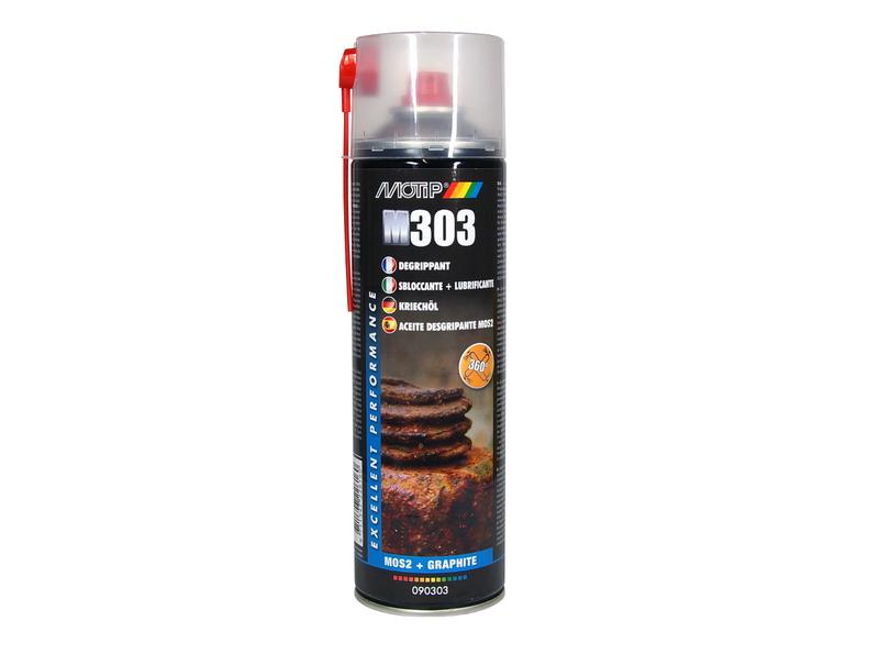 Dégrippant MoS2 MOTIP -spray 500ml