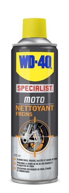 Nettoyant freins WD 40 Specialist Moto - spray 500ml